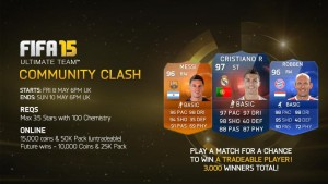 FUT 15: Акция Community Weekend