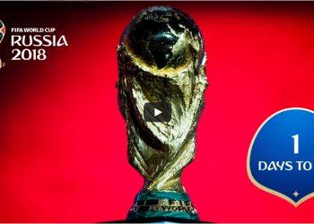 1 день до старта FIFA 2018