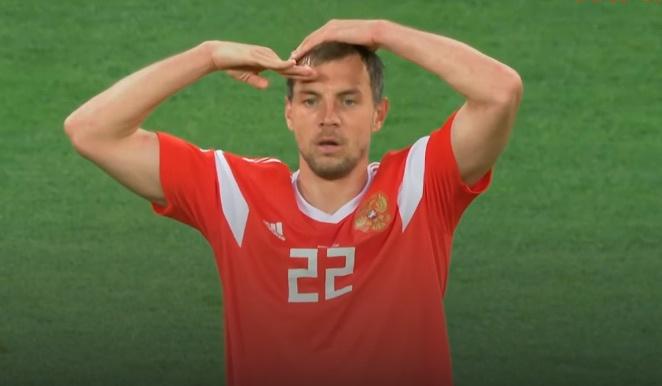 Россия - Египет 3:1