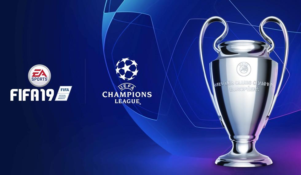 Лига Чемпионов появится в FIFA 19