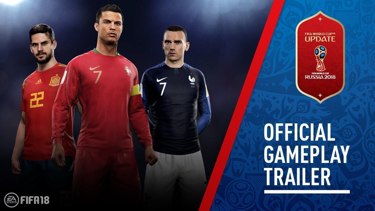 Трейлер FIFA World Cup 2018