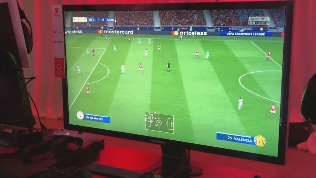 FIFA 19: Небольшое видео геймплея с E3