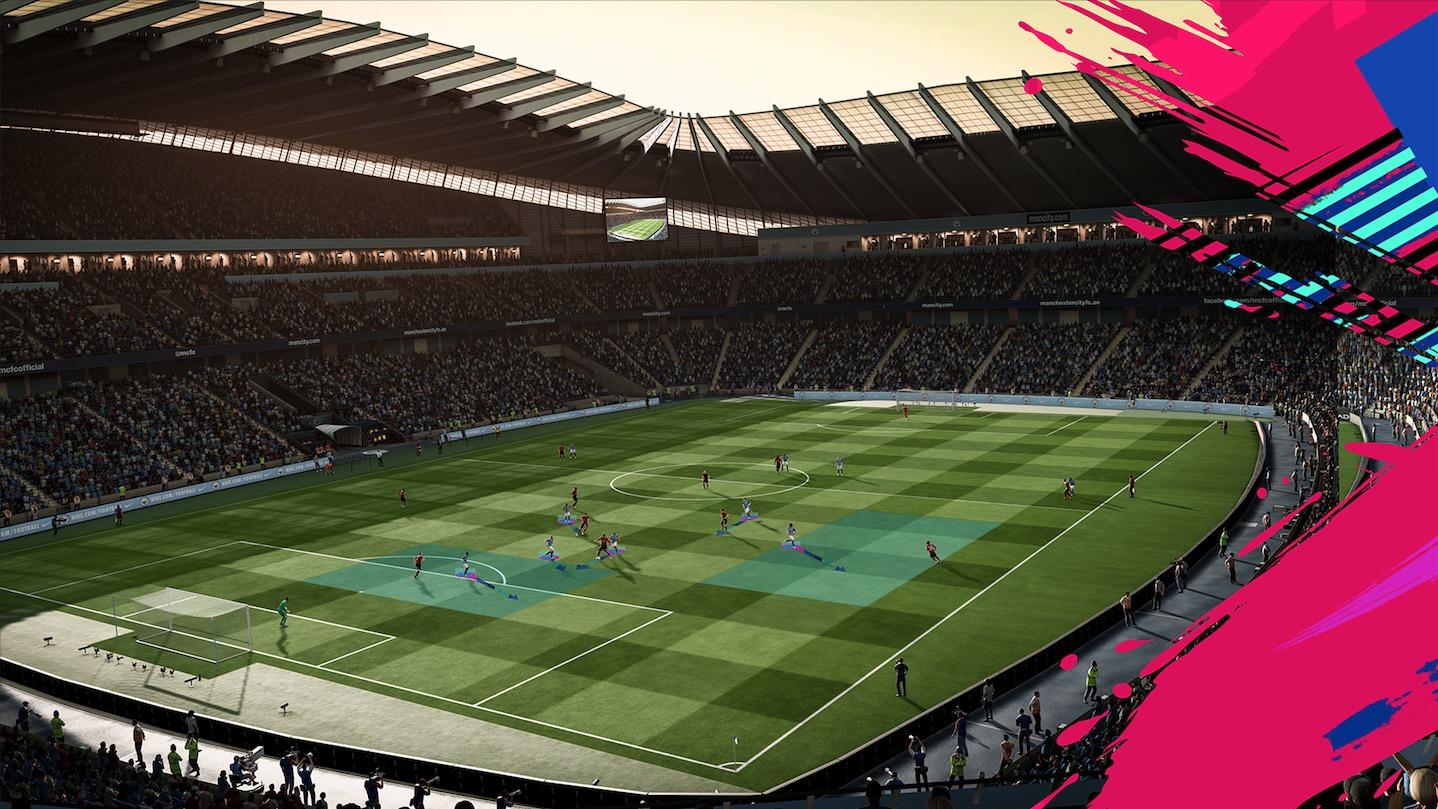 FIFA 19: Динамические тактики