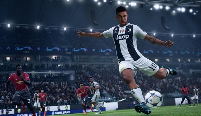 FIFA 19: Выбор момента удара