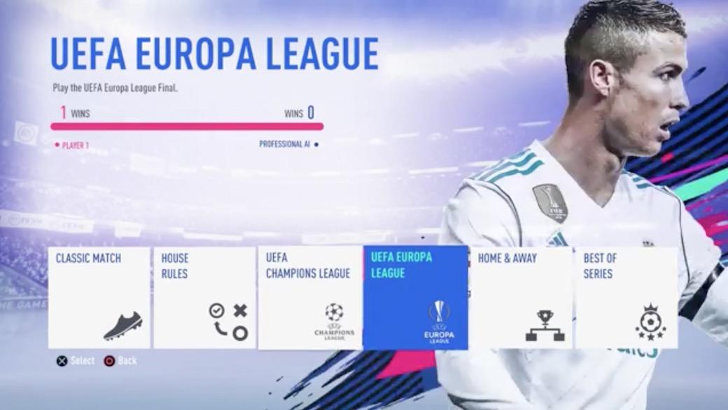 Видео FIFA 19: Меню, геймплей, команды