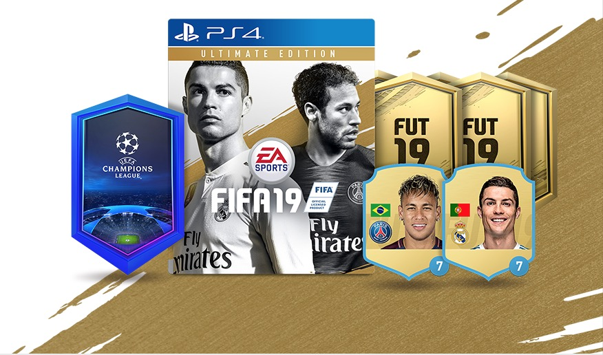 Предзаказ FIFA 19 Ultimate Edition