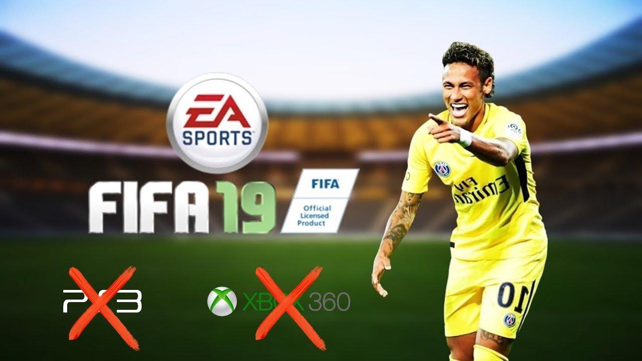 FIFA 19 не будет на Xbox 360 и PlayStation 3