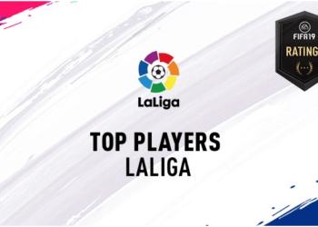 Лучшие игроки испанской примеры FIFA 19