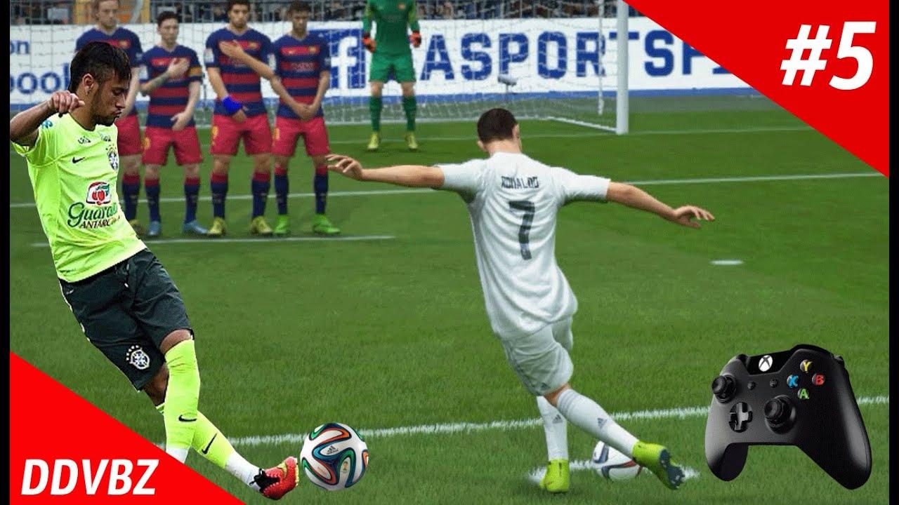 Как бить рабоной в FIFA 20 на PS4