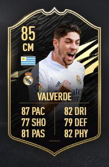 Федерико Вальверде (Реал) fifa 20