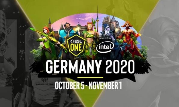 Постер ESL One Germany 2020